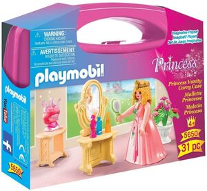 PLAYMOBIL MALETIN 5650 PRINCESAS