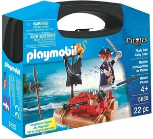 PLAYMOBIL MALETIN 5655 PIRATAS