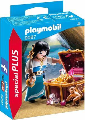 PLAYMOBIL SPECIAL PLUS 9087 MUJER PIRATA
