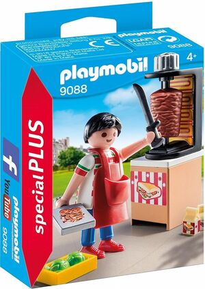 PLAYMOBIL SPECIAL PLUS 9088 VENDEDOR KEBAB
