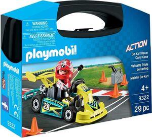 PLAYMOBIL MALETIN 9322 GO KART RACER
