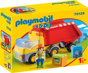 PLAYMOBIL CAMION DE CONSTRUCCION