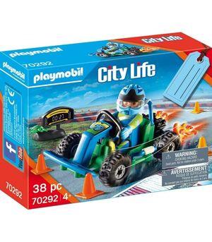 PLAYMOBIL 70292 SET GO KART CITY LIFE