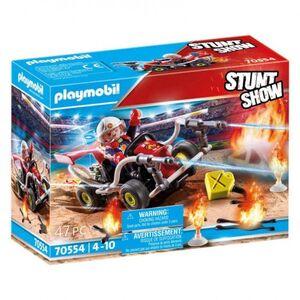 PLAYMOBIL 70554 STUNT SHOW KART BOMBERO