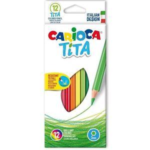LAPIZ COLOR CARIOCA TITA HEXAGONAL C/12