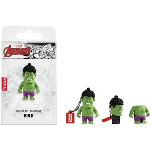 PENDRIVE 3D 16 GB HULK MARVEL USB 2.0