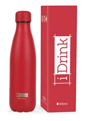 BOTELLA TERMO IDRINK 500ML ROJO