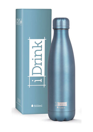 BOTELLA TERMO IDRINK 500ML METALICO VERDE