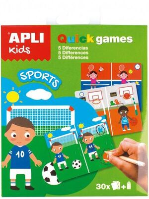 QUICK GAMES SPORT APLI KIDS