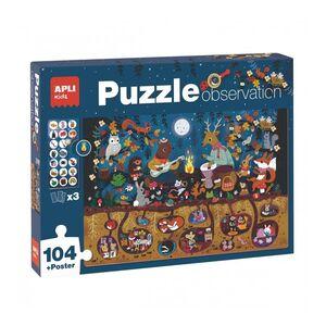 PUZZLE OBSERVATION BOSQUE