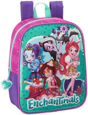 MOCHILA GUARDERIA ENCHANTIMALS