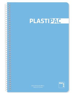 BLOC FOLIO PLASTIPAC PACSA PAUTA 2,5