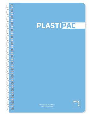 BLOC CUADRO 4MM FOLIO PLASTIPAC PACSA