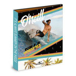 CARPETA 4 ANILLAS A4 SENFORT ONEILL SURF