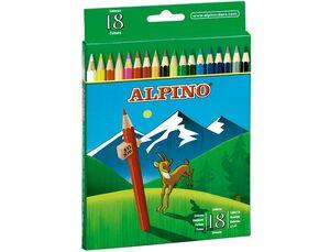 LAPIZ ALPINO 18 COLORES 656