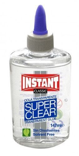 COLA TRANSPARENTE 147ML SUPERCLEAR