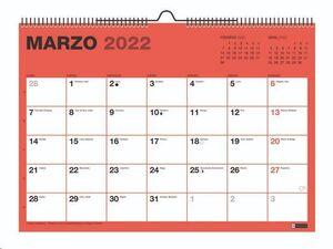 CALENDARIO PARED 21/22 A4 CUADRO PARA ESCRIBIR CHROMAT