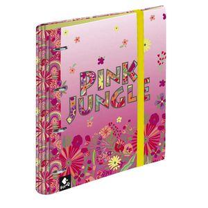 CARPEBLOC 4 ANILLAS 120H PINK JUNGLE BY BUSQUETS