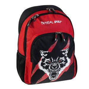 MOCHILA ESCOLAR DOBLE BESTIAL WOLF BY BUSQUETS