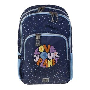 MOCHILA DOBLE LOVE YOUR PLANET BY BUSQUETS