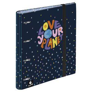 CARPEBLOC 4 ANILLAS LOVE YOUR PLANET BY BUSQUETS