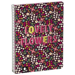 AGENDA ESCOLAR 21/22 SV A5 LOVELY FLOWERS BY BUUSQUETS