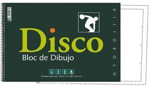 BLOC DIBUJO Fº DISCO 170R C/REC ESPIRAL