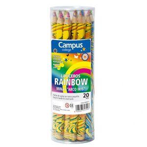 LAPIZ GRUESO CAMPUS RAINBOW