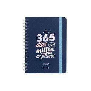 AGENDA ANUAL 2022 SEMANAL - 365 DIAS Y UN MILLON DE PLANES MR WONDERFUL