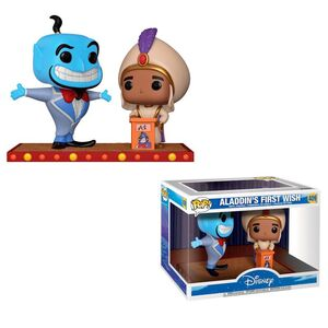 FUNKO POP DISNEY MOVIE MOMENT ALADDIN GENIE