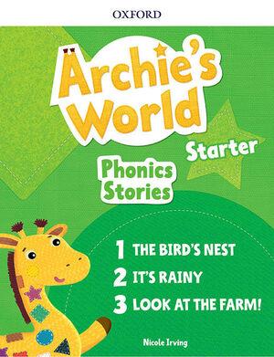 ARCHIE'S WORLD STARTER PHONICS READERS