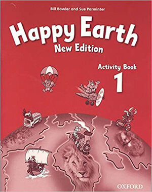 HAPPY EARTH 1. ACTIVITY BOOK 2ND EDITION