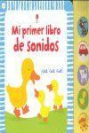 MI PRIMER LIBRO DE SONIDOS