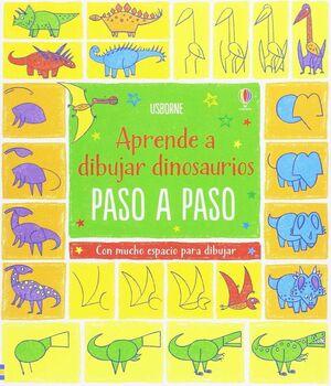 DIBUJO DINOSAURIOS PASO A PASO