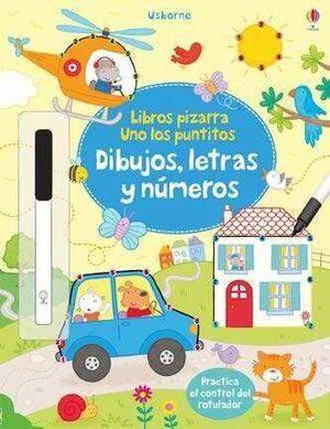DIBUJOS, LETRAS Y NUMEROS
