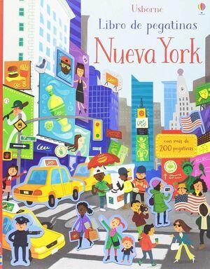 MI PRIMER LIBRO PEGATINAS NUEVA YORK