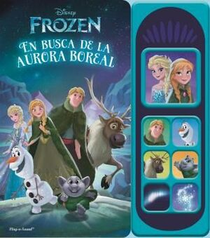 LIBRO MUSICAL 7 BOTONES FROZEN LUCES MAGICAS LSD