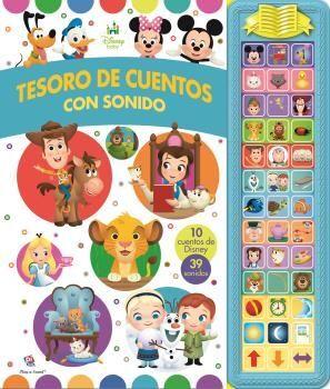 TESORO DE CUENTOS CON SONIDO DISNEY BABY SD TREASURY