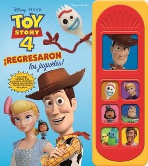 LIBRO MUSICAL 7 BOTONES TOY STORY 4 LSD