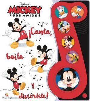 LA NOTA MUSICAL MICKEY Y AMIGOS LMN 6B