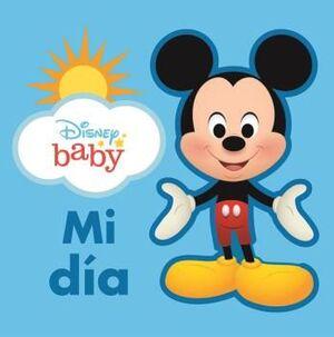 MI DIA.LIBRO DE TELA DISNEY BABY