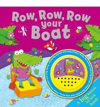 ROW ROW ROW YOUR BOAT - BIG BUTTON - ING