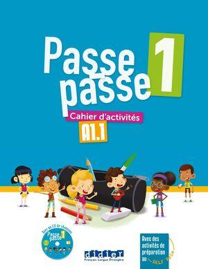 PASSE PASSE 1 - A1.1 CAHIER + CD
