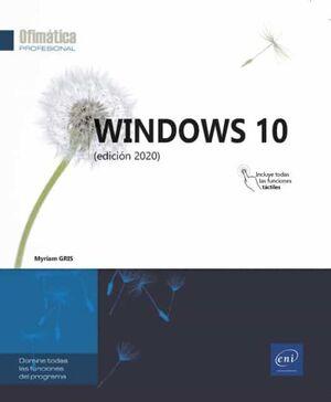 WINDOWS 10 EDICION 2020