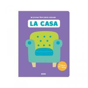 PRIMER LIBRO COLOREAR LA CASA.AU