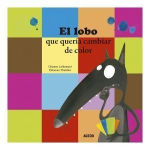 EL LOBO QUERIA CAMBIAR DE COLOR.