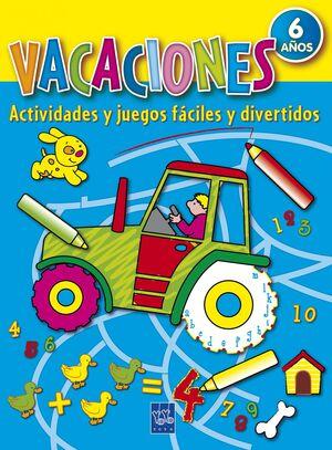 VACACIONES 6 AÑOS