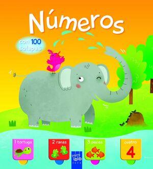 NUMEROS. CON 100 SOLAPAS