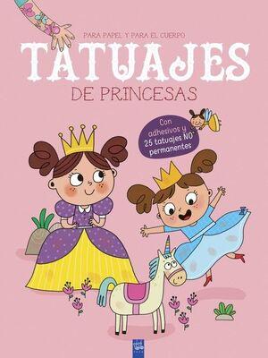 TATUAJES DE PRINCESAS