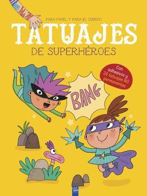 TATUAJES DE SUPERHEROES